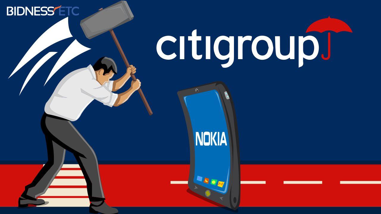 Citi Research Downgrades Nokia Corporation Adr Nok Alcatel Lucent Alu To Neutral Nokia Corporate Nok