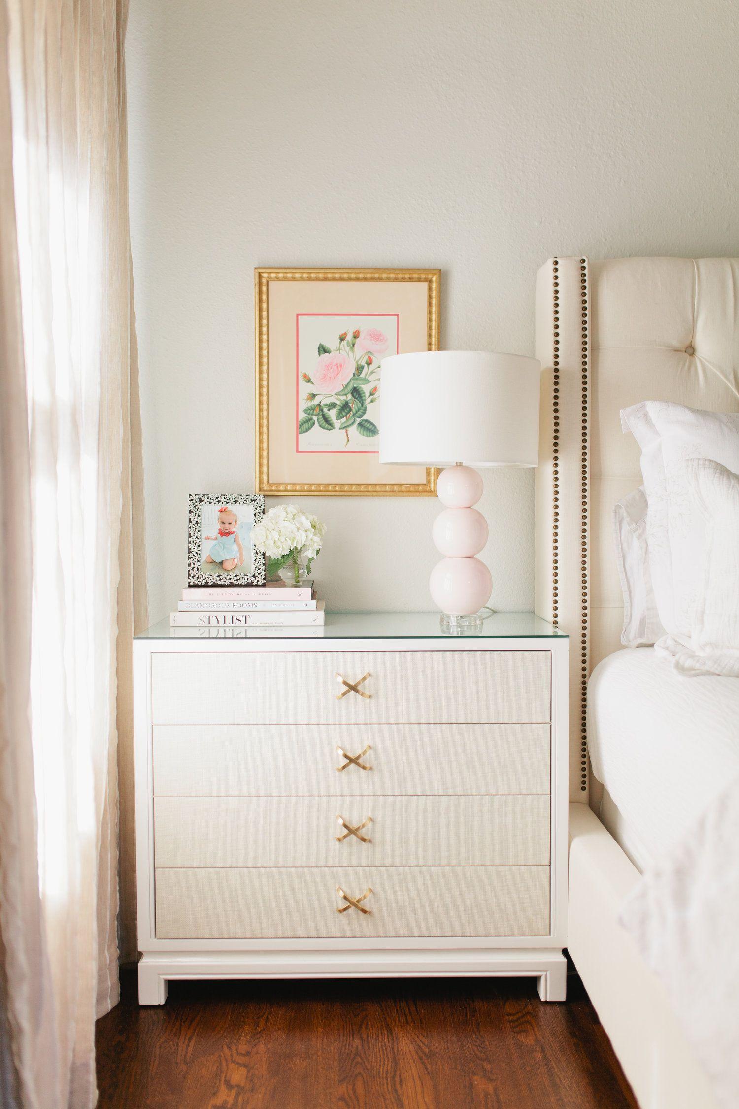 Ceh Label Scottie Chest Raffia Lacquer Gold Bedroom Decor