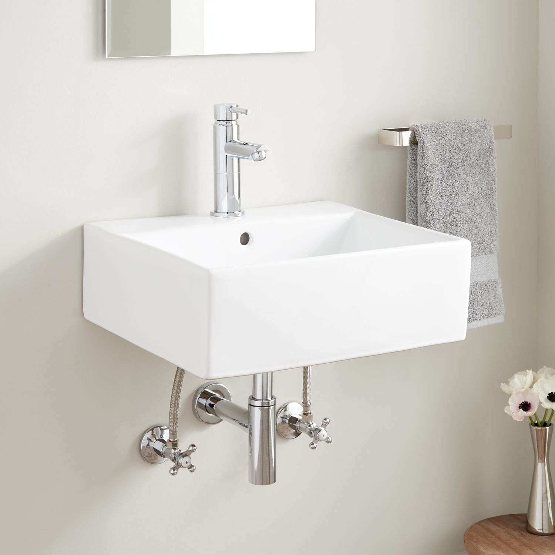 Baltasar Porcelain Wall Mount Sink Signature Hardware Wall