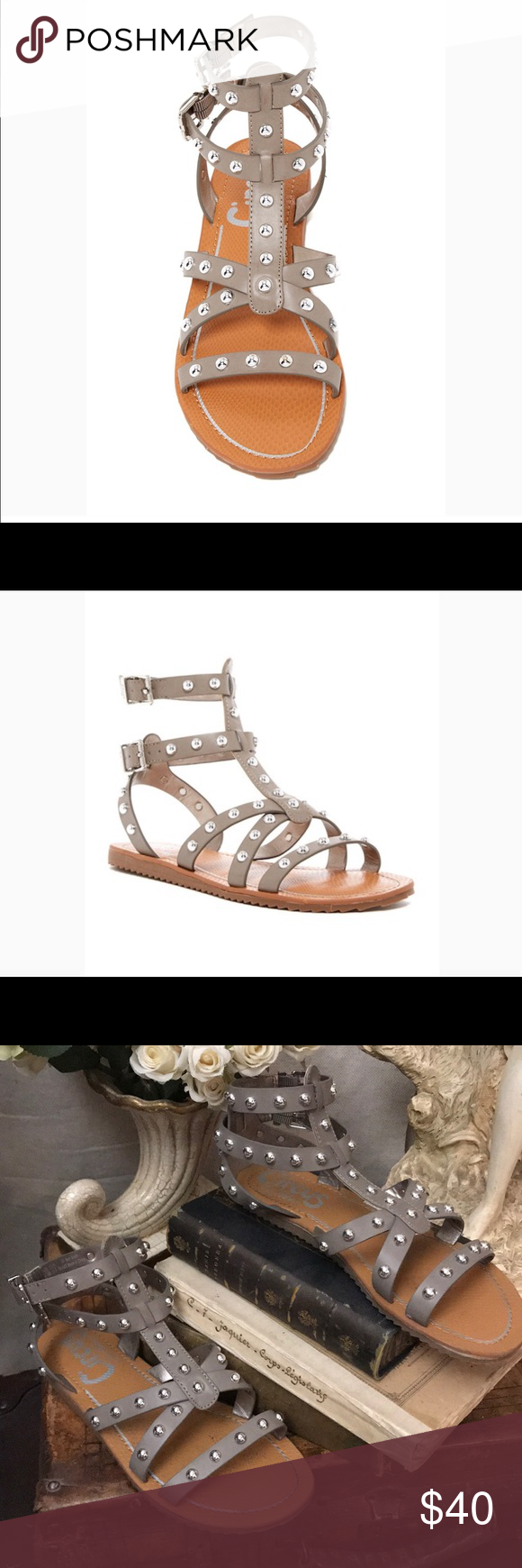 9b3d9798b220 Circus by Sam Edelman Shane Gladiator sandals Sam Edelman Gladiator sandals  Great edgy look In fantastic condition Neutral taupe gray color Worn one  time ...