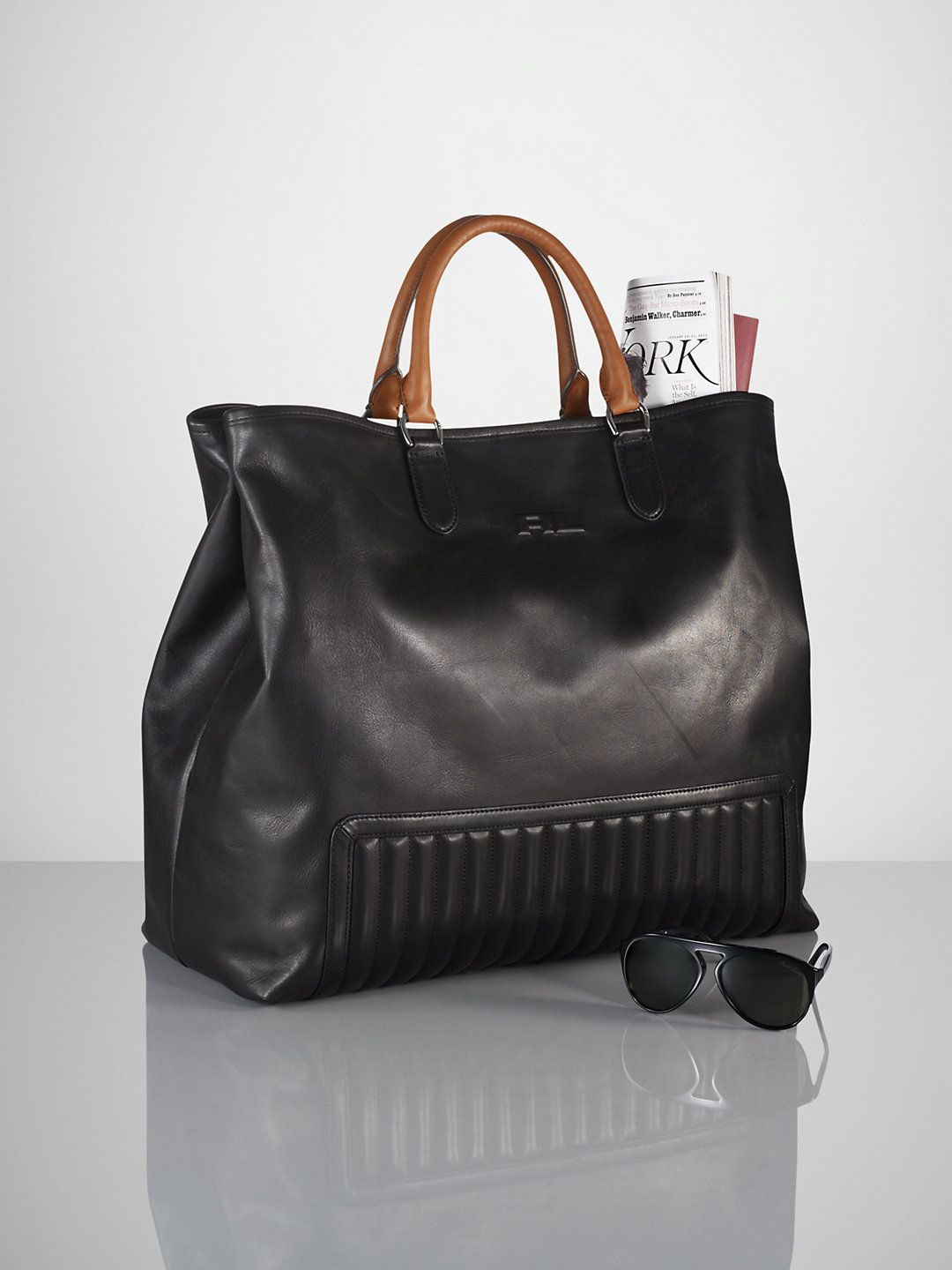 Quilted Tote - Totes  Bags & Business Accessories - RalphLauren.com