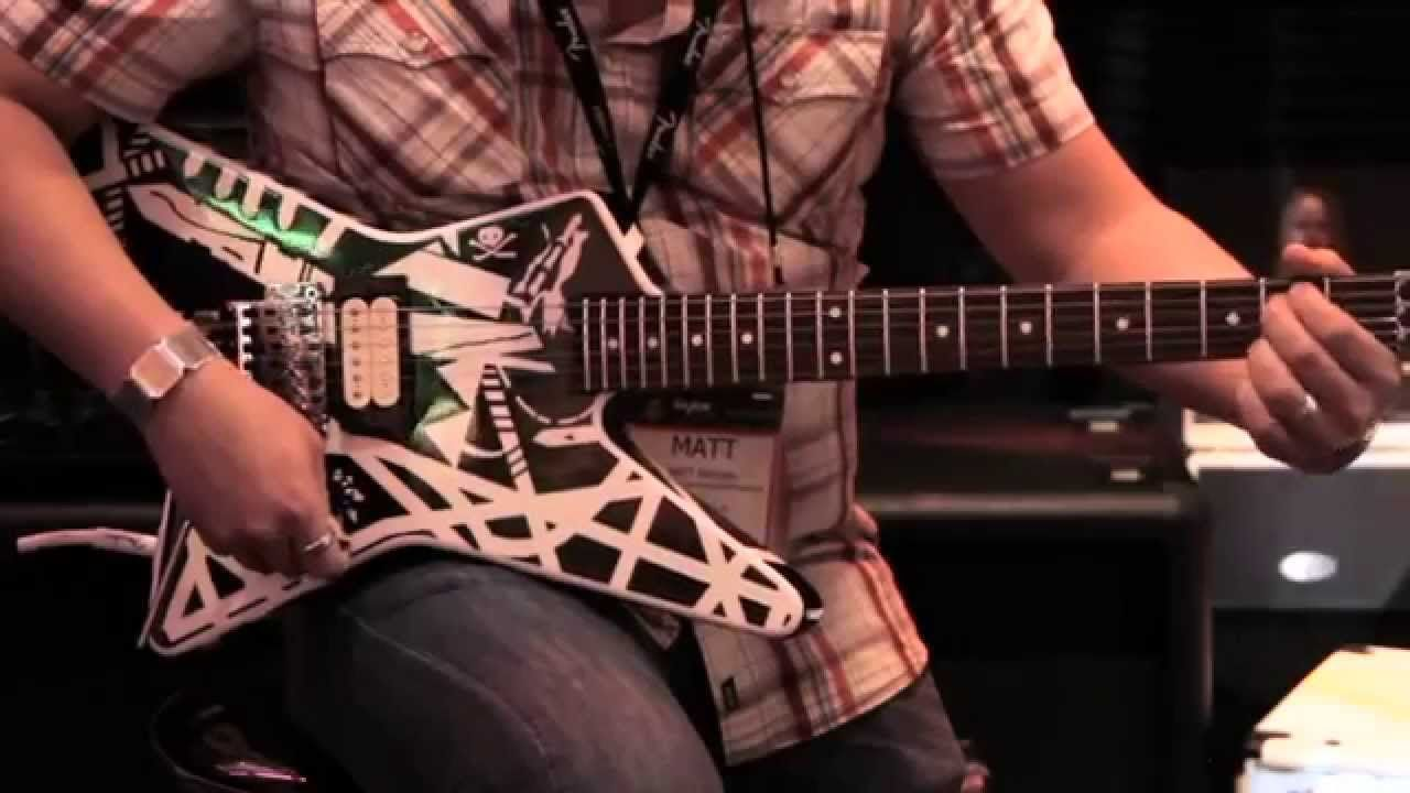 EVH Booth and Stripe Series Star Demo Live from NAMM 2015 ...