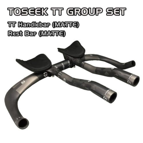 Toseek Carbon Triathlon Time Trial Tt Bike Handlebar Rest Bar
