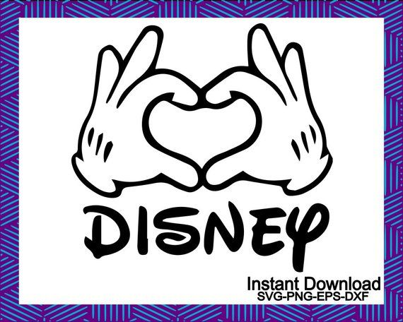 Download Mickey svg disney svg love svg friends svg Mickey hands ...