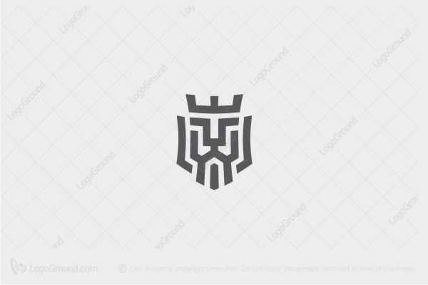 Logo For Sale Lion In The Crown