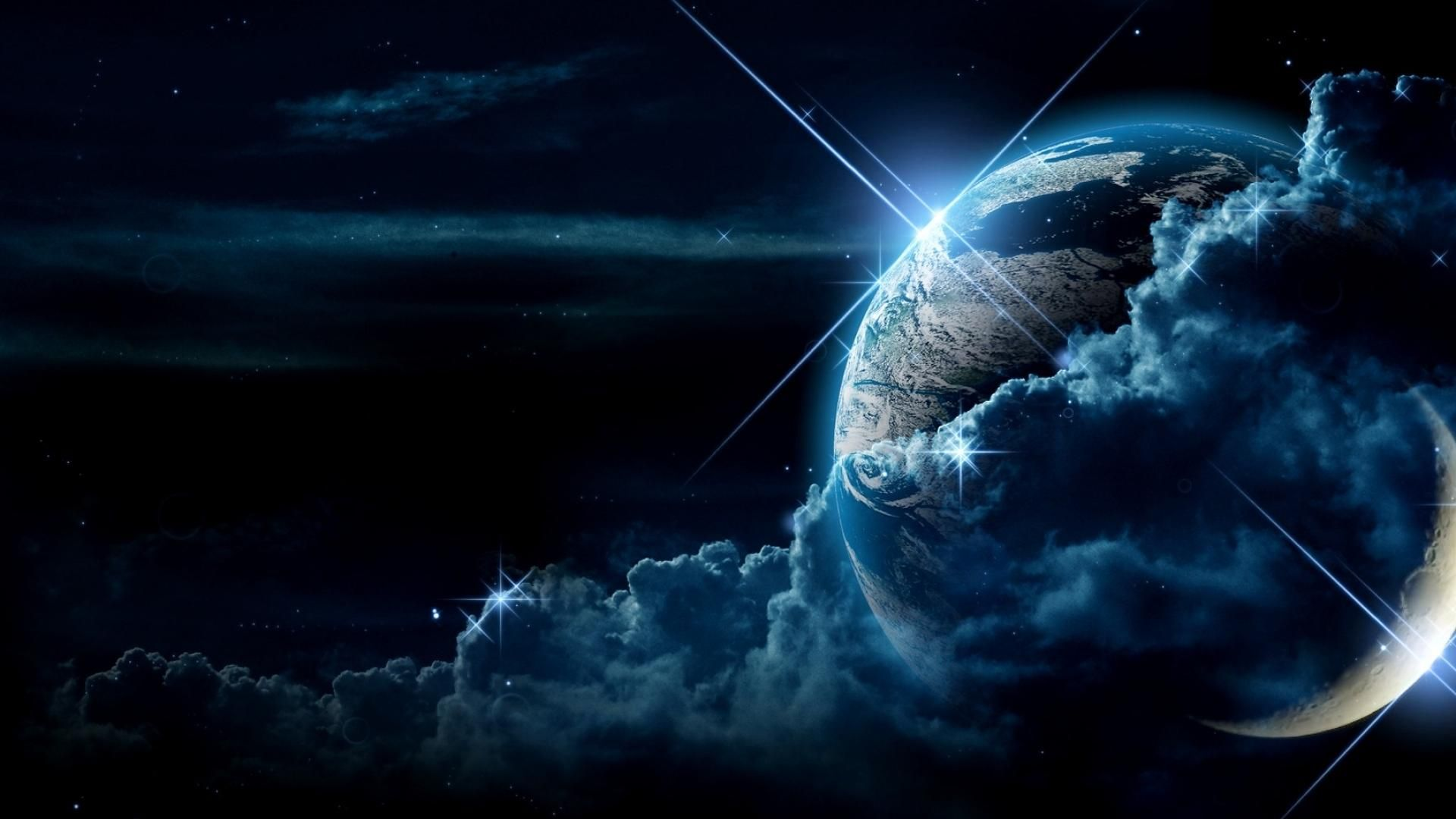 Real Space Wallpaper Background Download Earth From Space Wallpaper Space Space Backgrounds