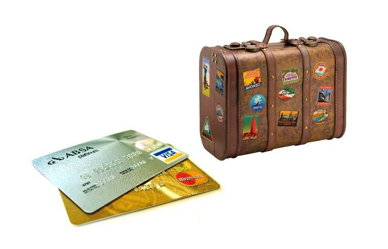 Tarjetas y equipaje