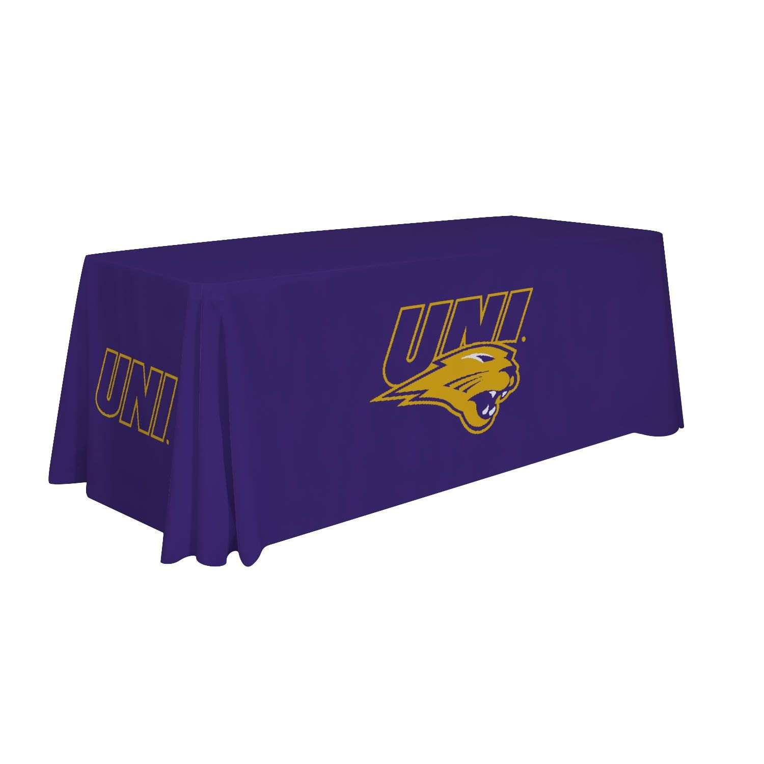 6' Table Cloth - Northern Iowa University Panthers - 810026NIA-002