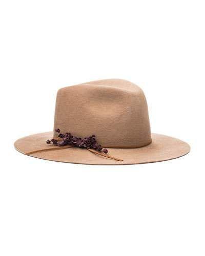 121eac1940aab D192X Eugenia Kim Georgina Embellished Felt Hat