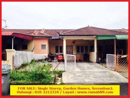 For Sale Single Storey Garden Homes Seremban 2 Home And Garden Seremban Home