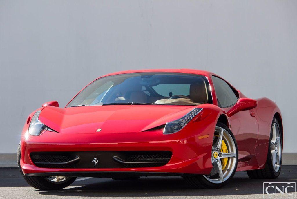 Awesome Ferrari 458 Italia Coupe 2010 Ferrari 458 Coupe In Rosso