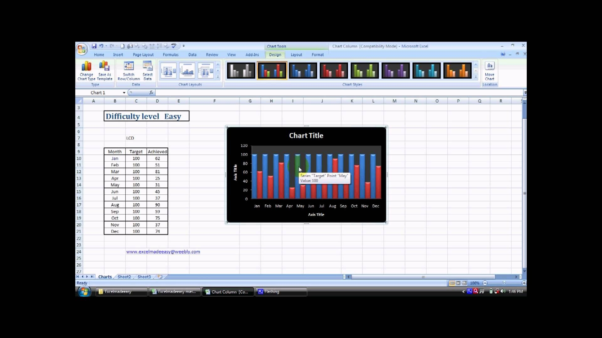 Make Column Chart In Excel 26