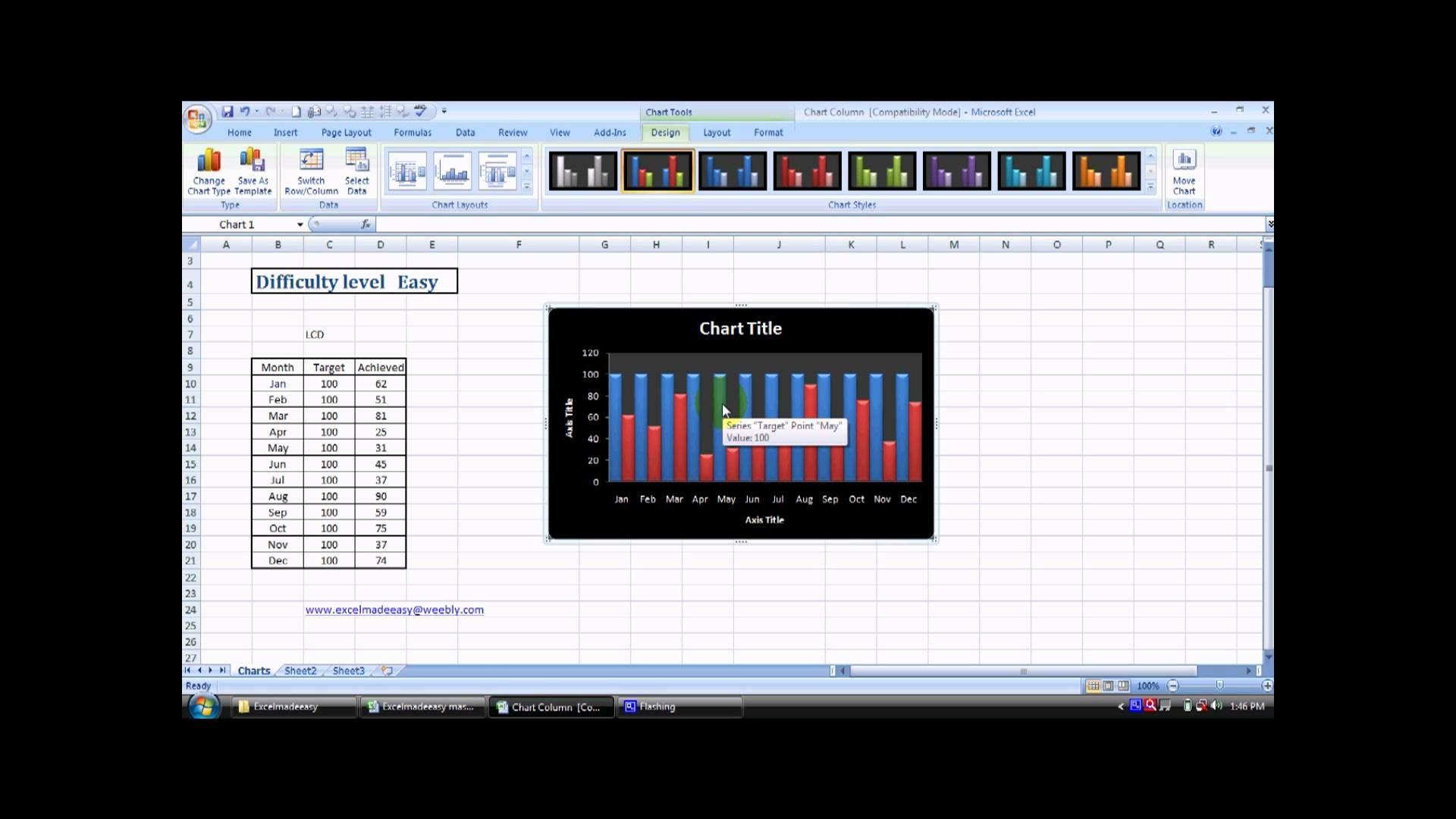 Make Column Chart In Excel 26