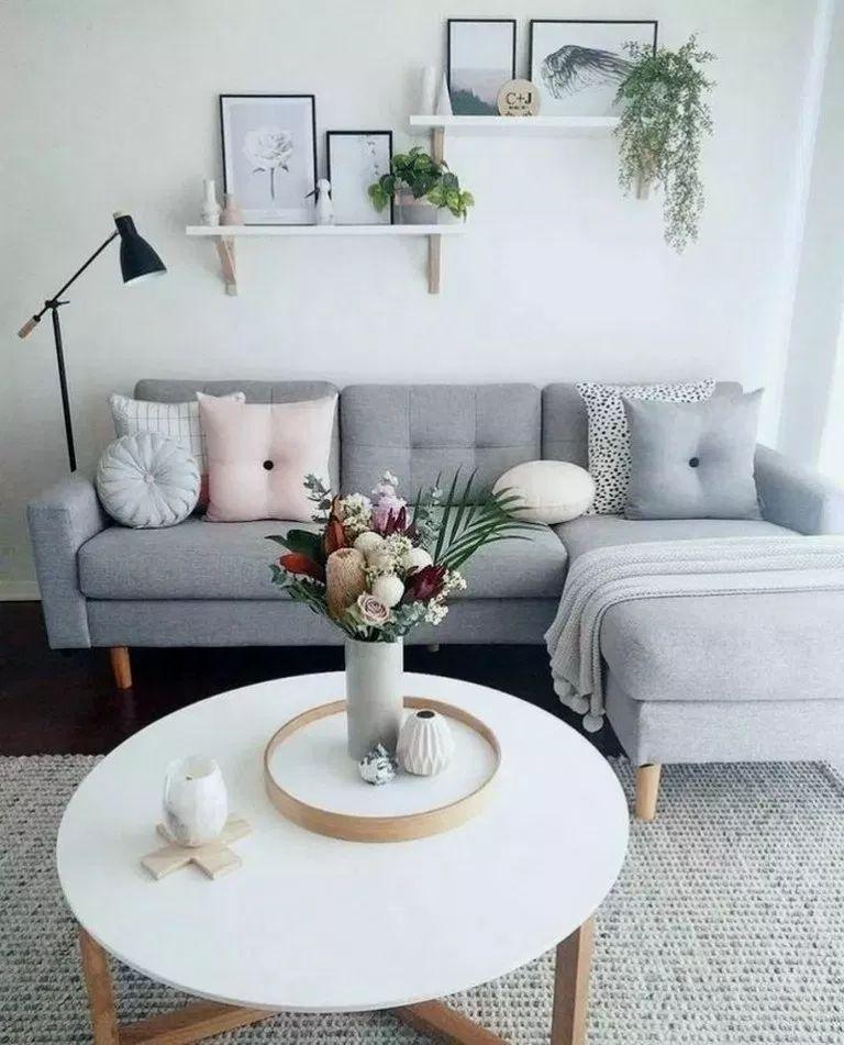 40 Fantastic Modern Apartment Decor For Living Room #modernfarmhouselivingroom