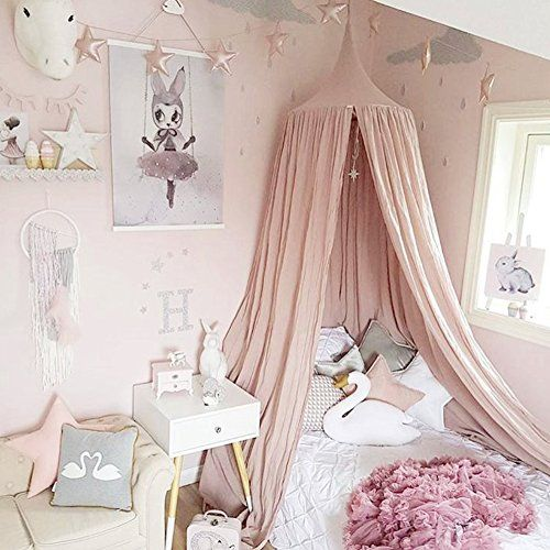 Princess Bed Canopy Mosquito Net For Kids Baby Crib, Roun... Https: