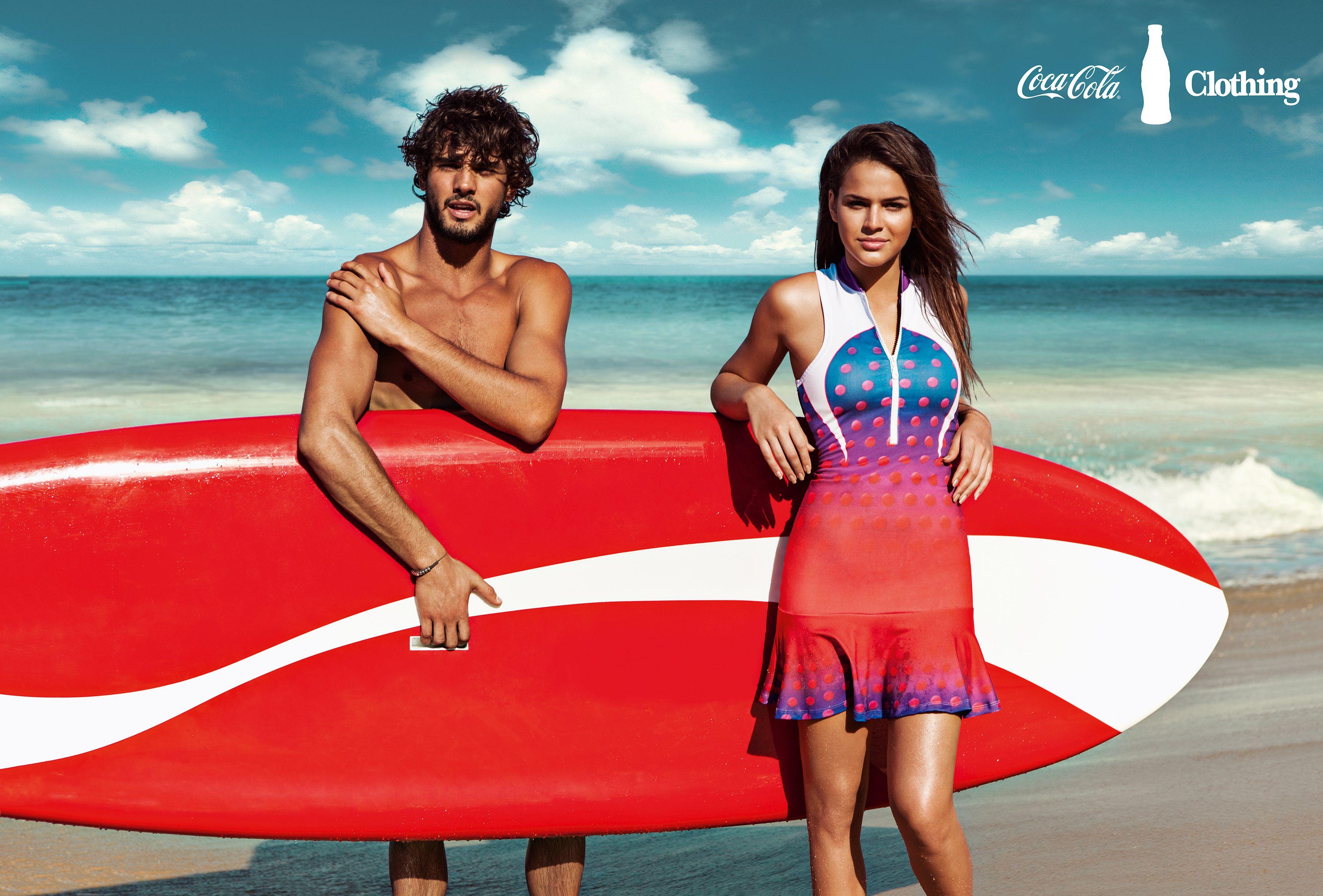 Marlon Teixeira e Bruna Marquezine para Coca-Cola Jeans   Verão 2014 #cokestyle