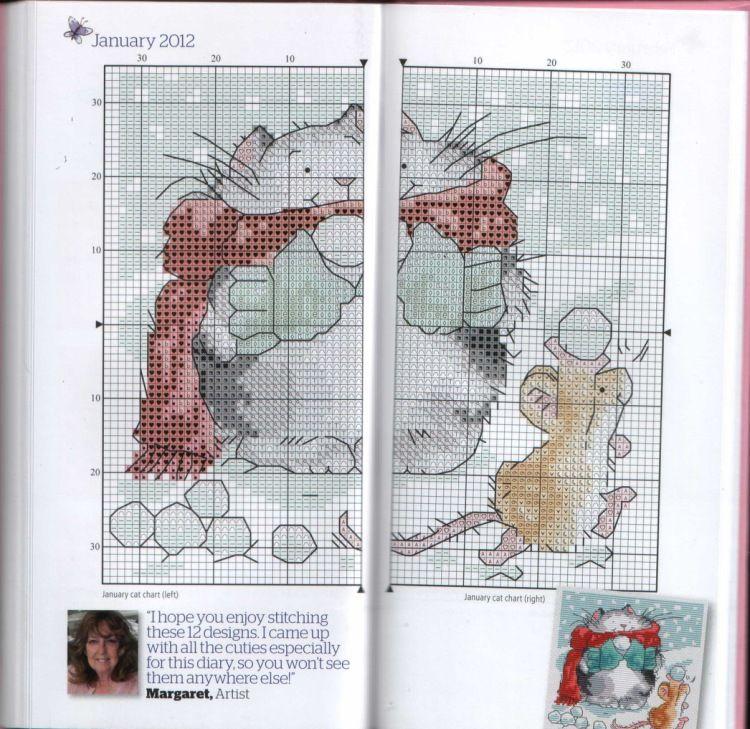 Margaret Sherry - The world of cross stitching 185 - Stitcher's Diary 2