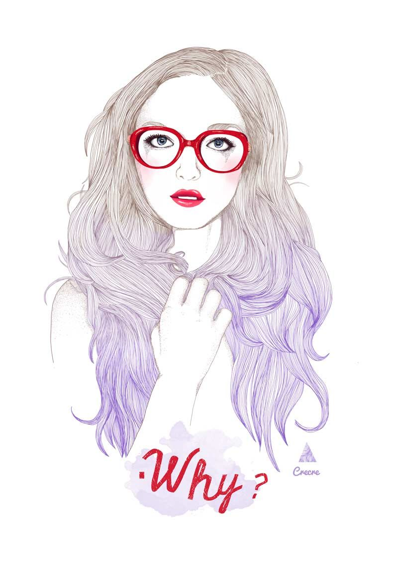 Fashion glasses illustration google search mode - Dessin de fille de mode ...