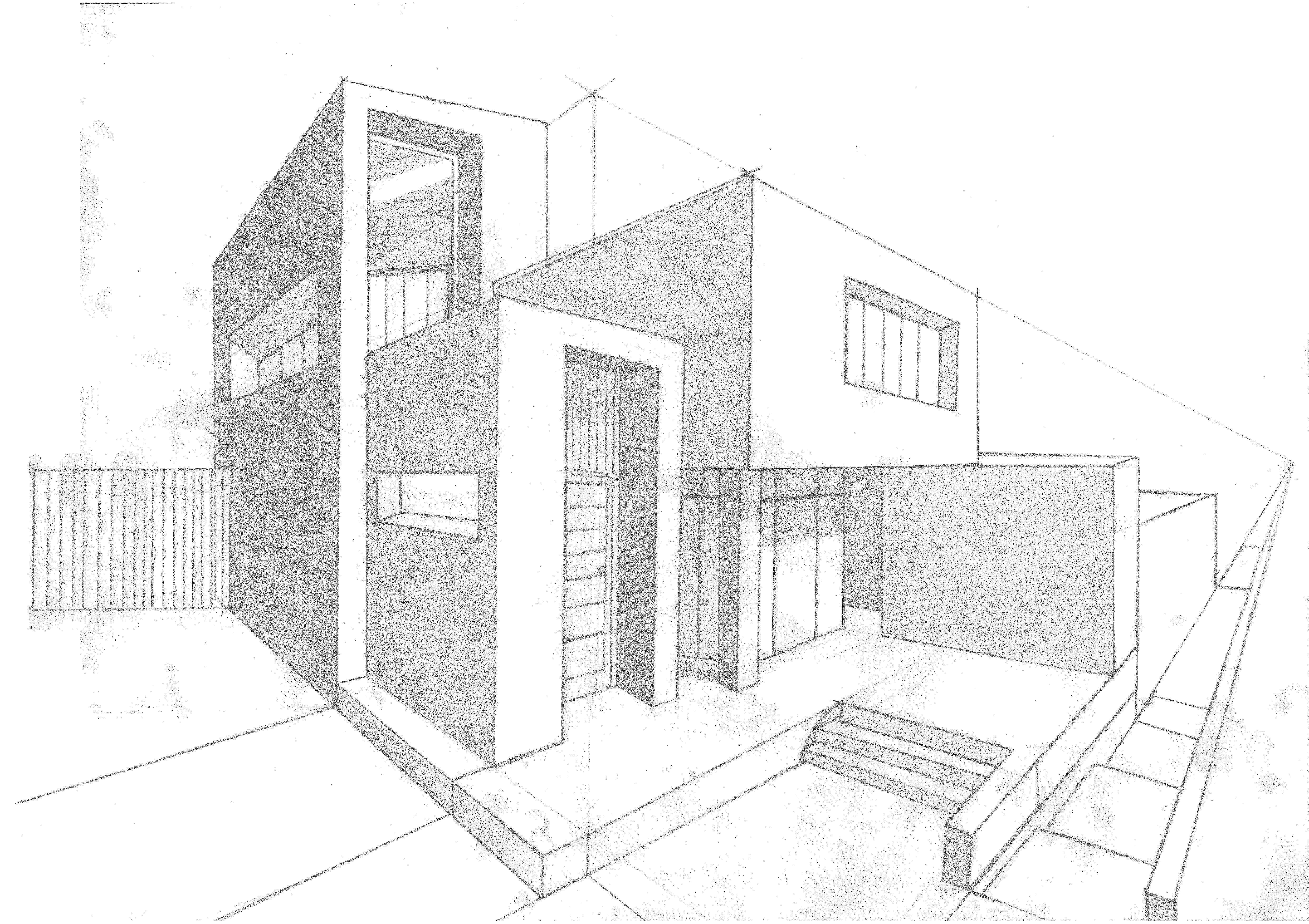 Pin de Eli Gutiérrez en My Online Portfolio | Bocetos arquitectura, Dibujo  de arquitectura, Dibujos de arquitectura