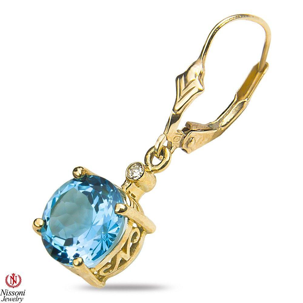 Amazon nissonijewelry presents ladies diamond accent earrings with