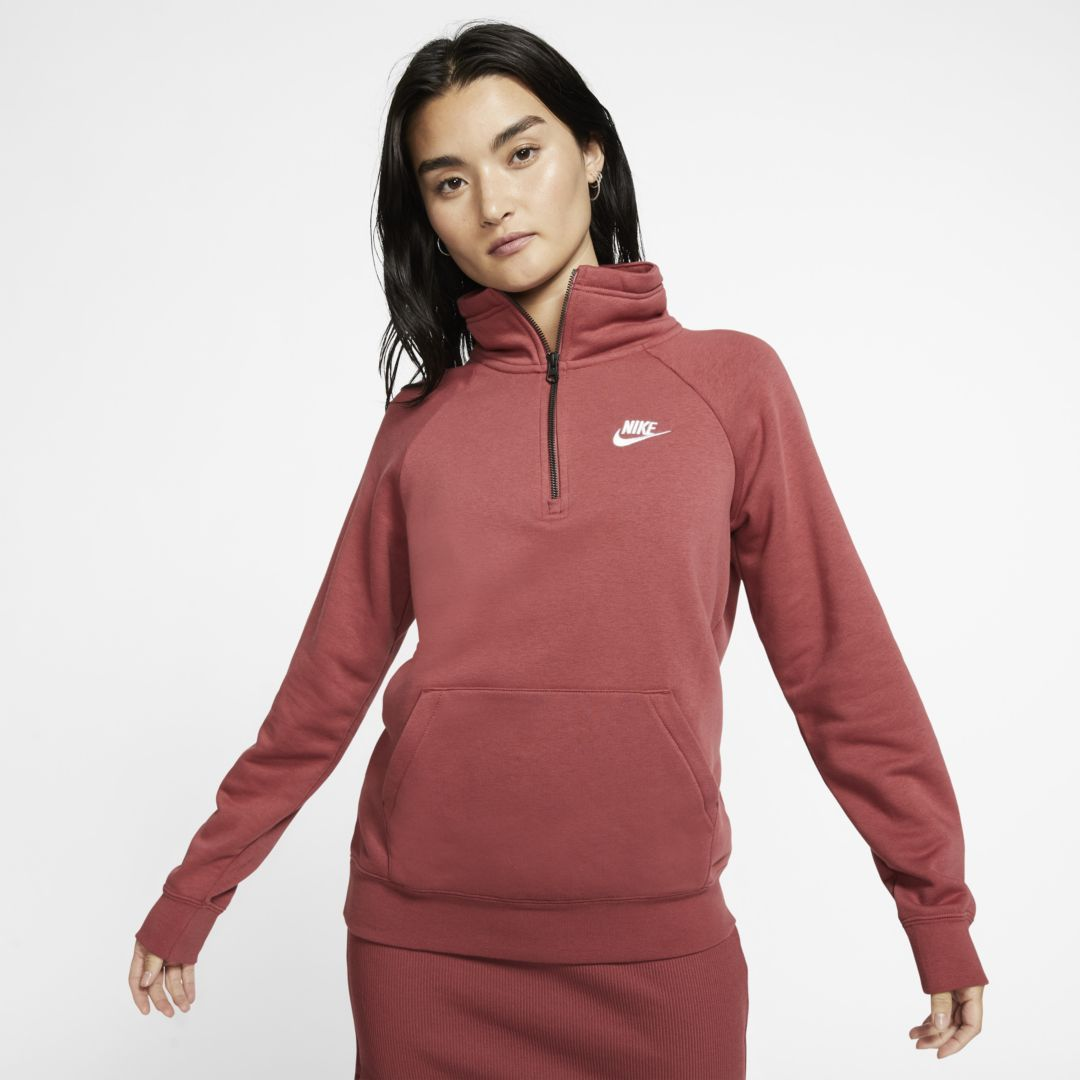1/4 zip nike sweatshirt