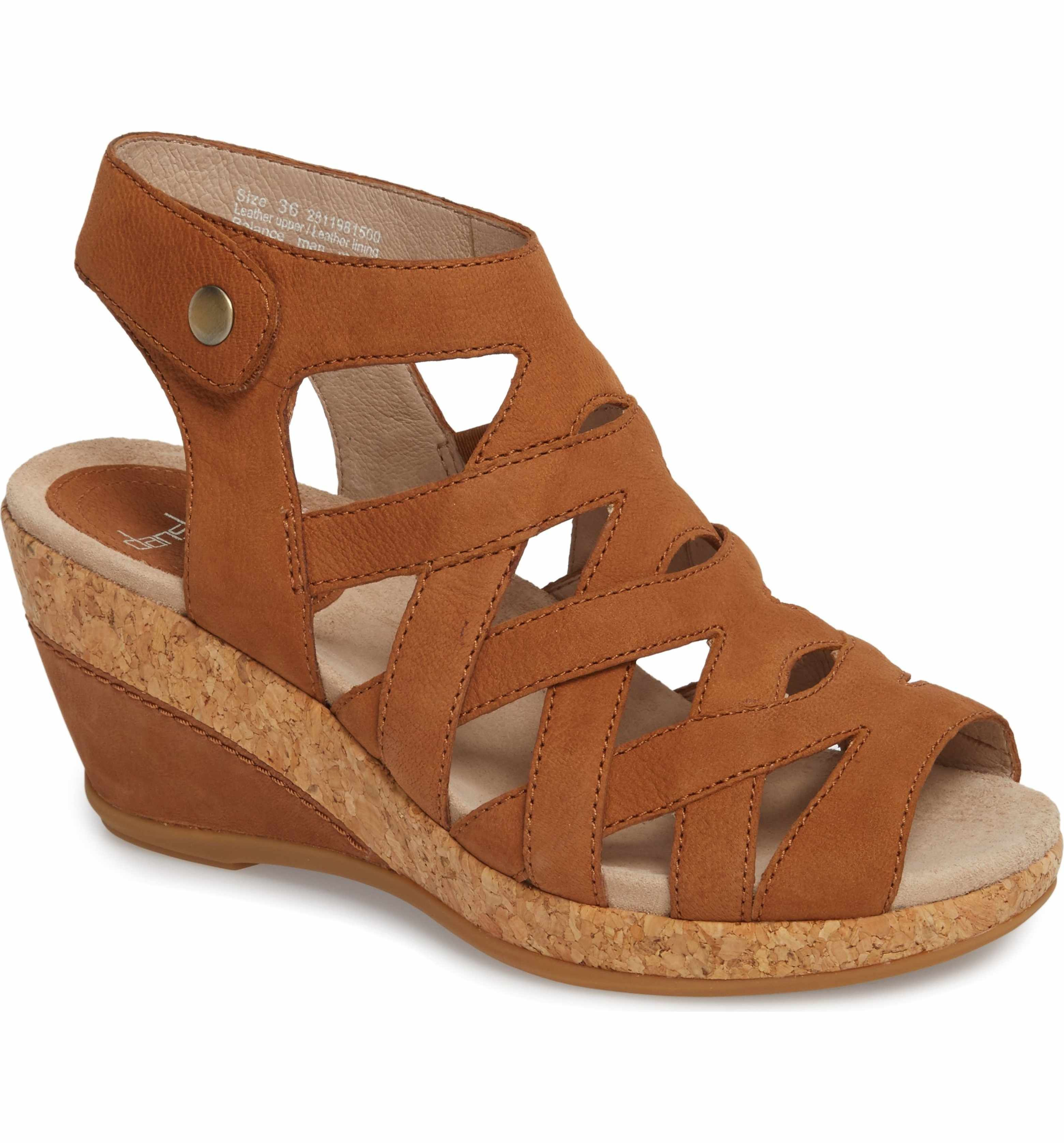 Dansko Women's Cecily Caged Wedge Sandal a7qXeW