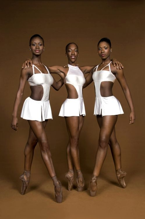 Beautiful beautiful beautiful black ballerinas.