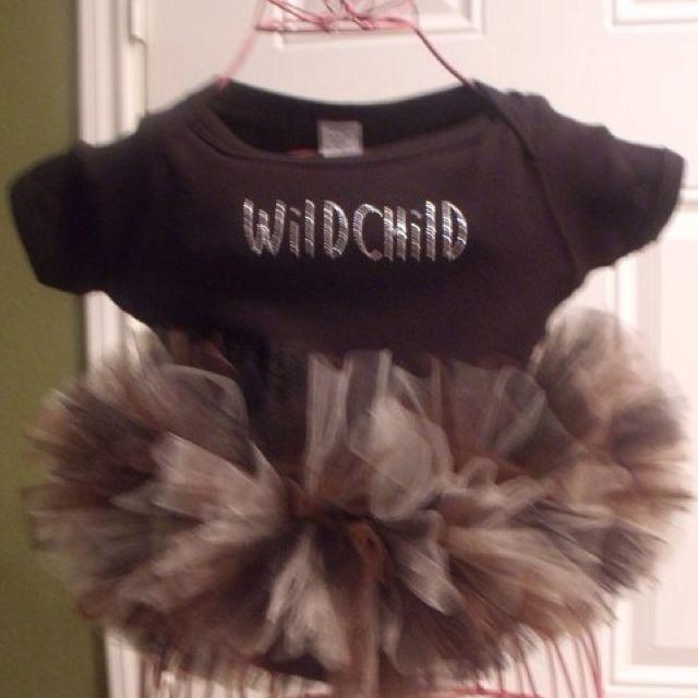 Wild Child Tutu