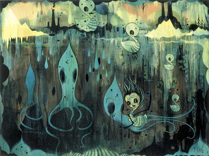 Camille Rose Garcia Wallpaper