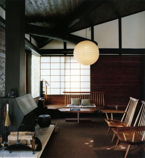 pingl par claire sophie pissenlit sur maison japonaise deco int rieur japonais et interieur. Black Bedroom Furniture Sets. Home Design Ideas