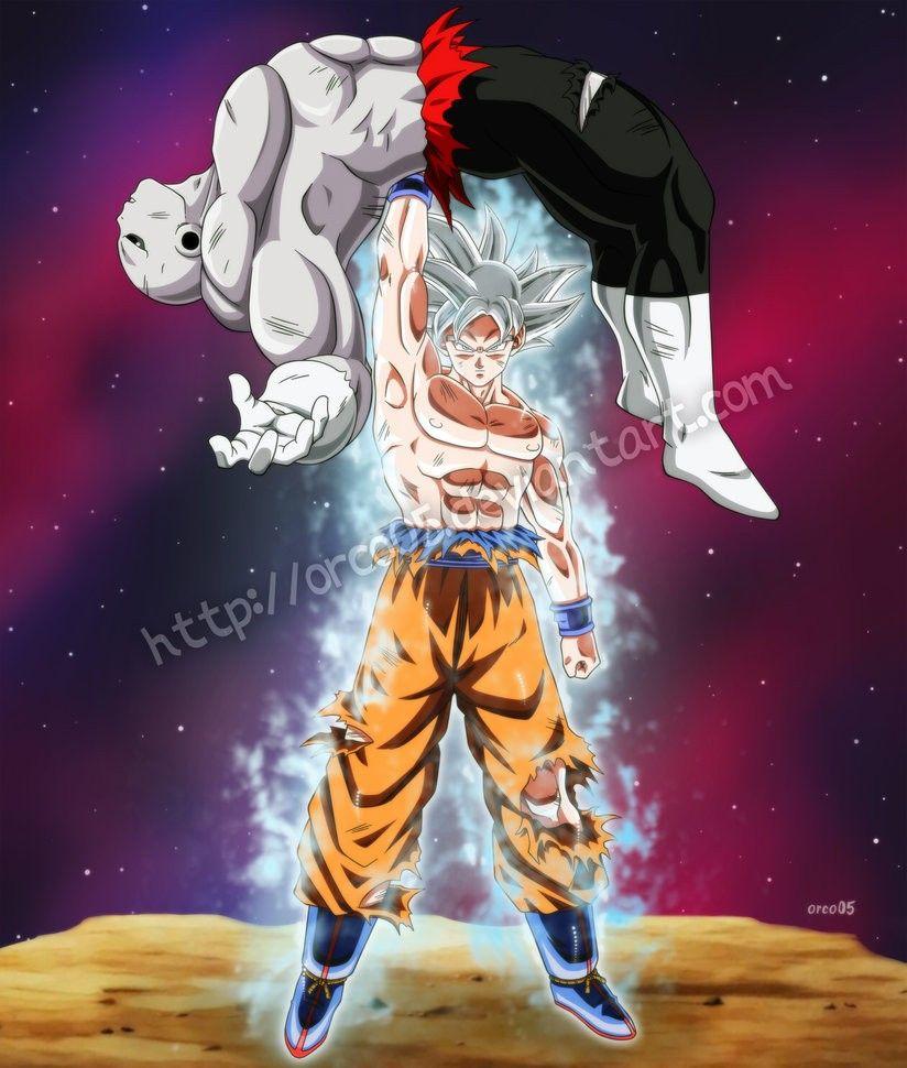 Goku Vs Jiren Goku Dragon Ball Personaggi