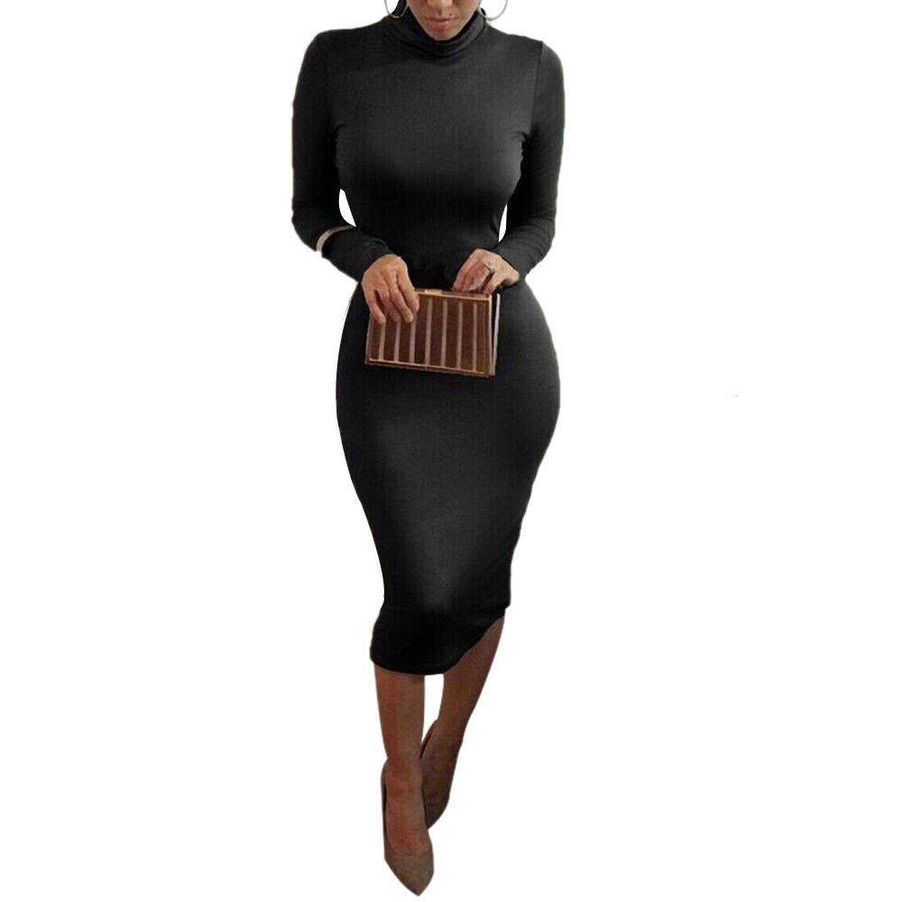 Kim kardashian sexy long sleeve pencil bodycon dress products