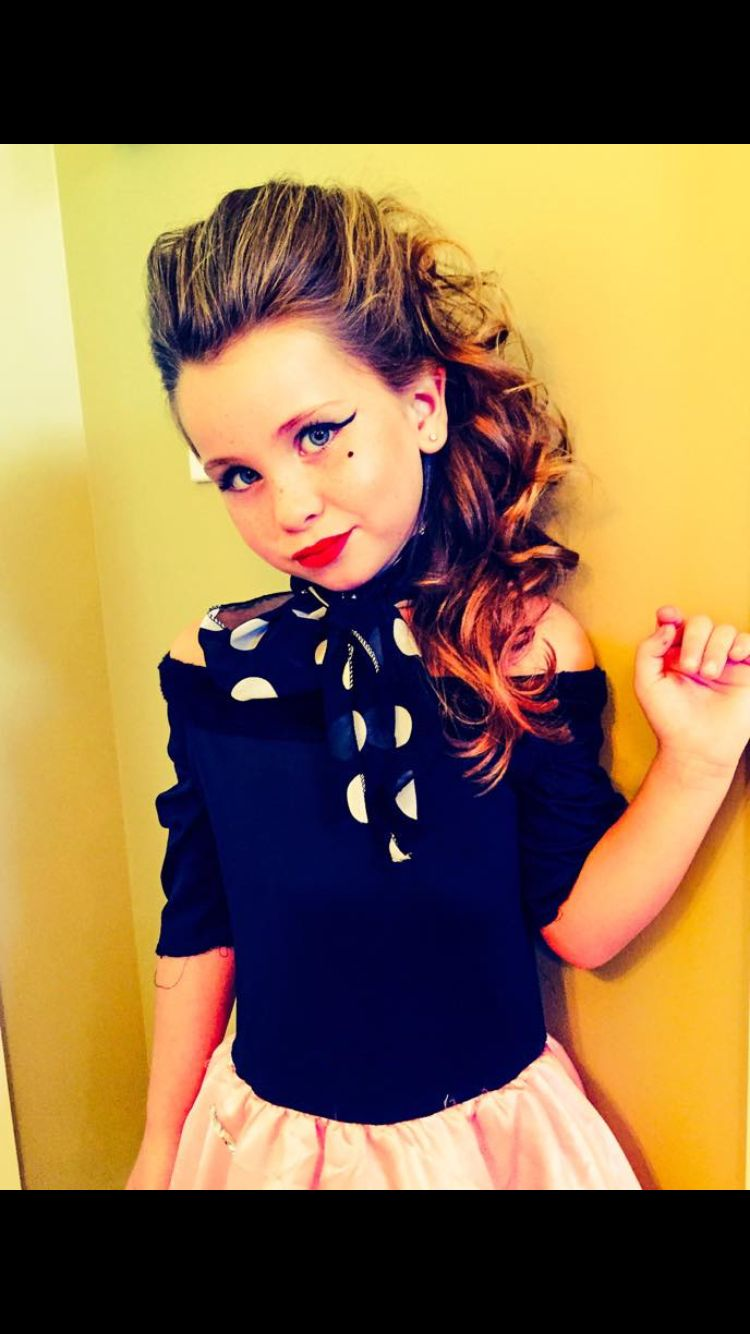 Sock Hop Makeup I Did For Cruisin The