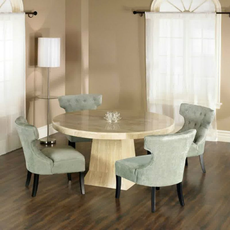 Dining Room Design Round Table, Circle Dining Room Table