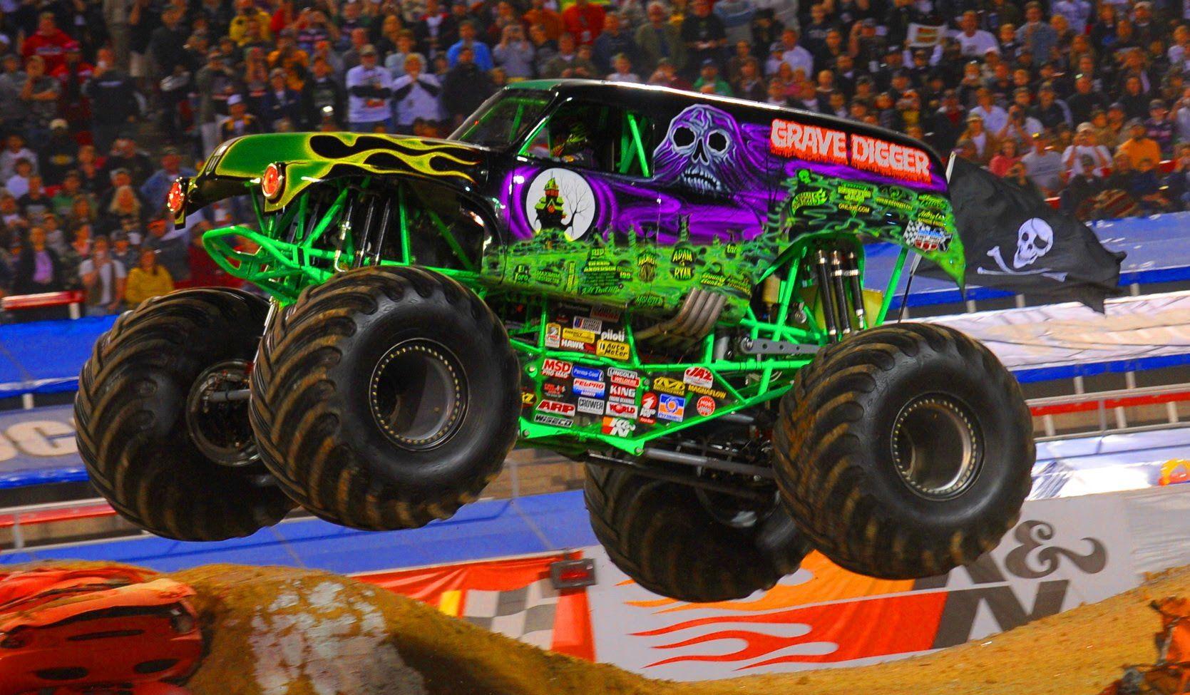 Monster Jam Grave Digger Gameplay Car Game Cartoon For Kids