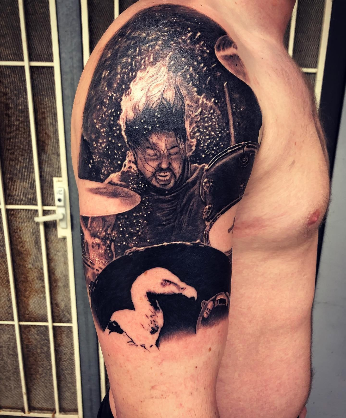 Dave Grohl Tattoo Best Tattoo Dave Grohl Tattoo Dave Grohl Tattoos