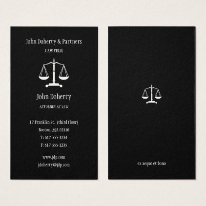 Attorney at law elegant business card attorney at law elegant business card professional gifts custom personal diy reheart Choice Image