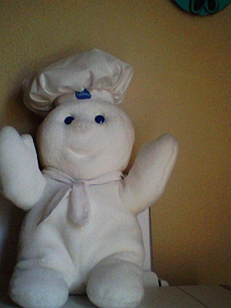 pillsbury stuffed animal pillsbury dough boy giggling plush stuffed doll poke the dough boy