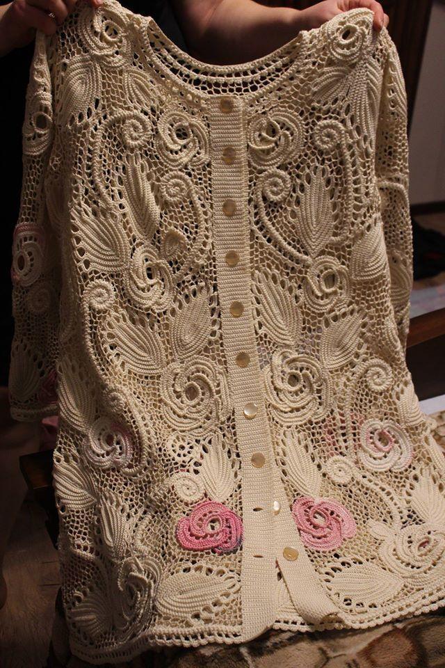 Ирландское кружево. | Amanecer | Pinterest | Crochet irlandés ...