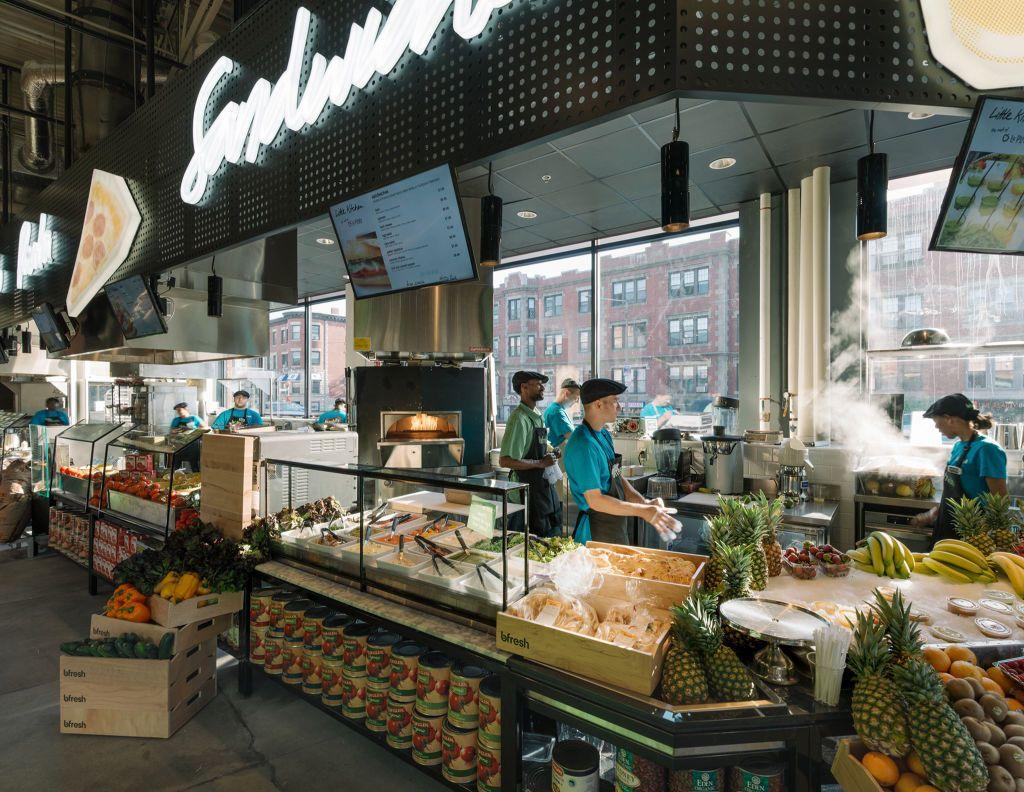 Bfresh Boston Grocery Store Design Supermarket Design Retail Design