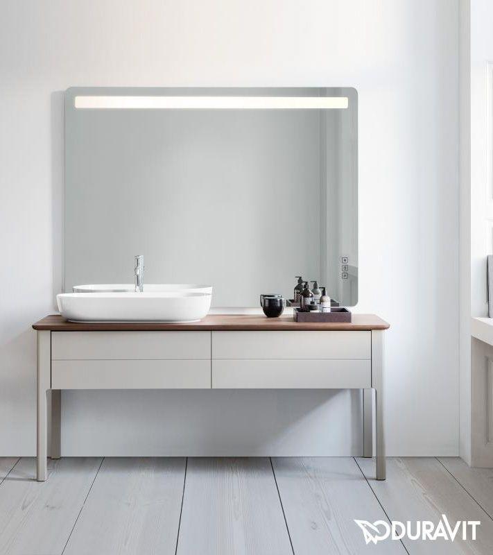 duravit luv der waschtischunterschrank aus der serie luv von duravit f gt sich elegant unter. Black Bedroom Furniture Sets. Home Design Ideas