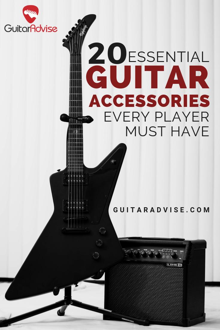 20 Best Essential Guitar Accessories Every Guitar Player Must Have Guitar Accessories Guitar Electric Guitar
