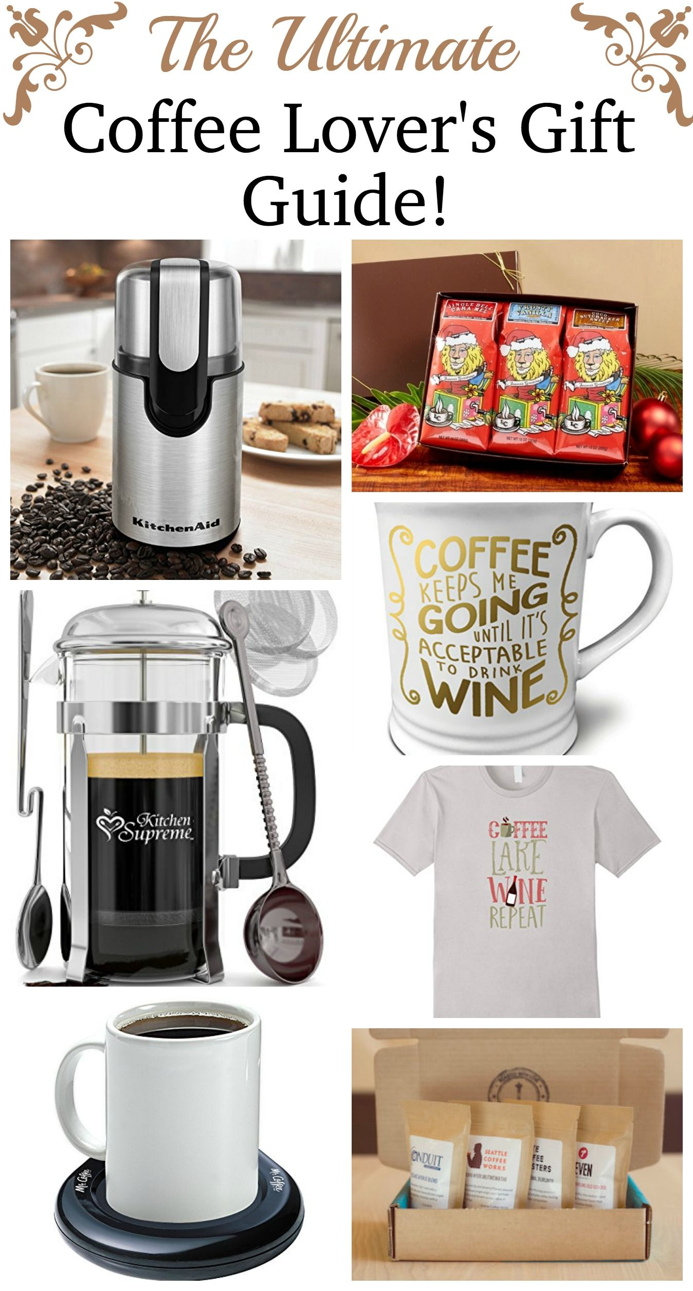 Ultimate Coffee Lovers Gift Guide Coffee lover gifts