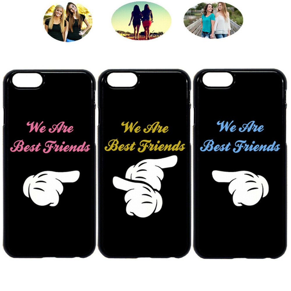 We Are Friends Best Friend Bff Phone Case Cover For iPhone X XR 6 ...