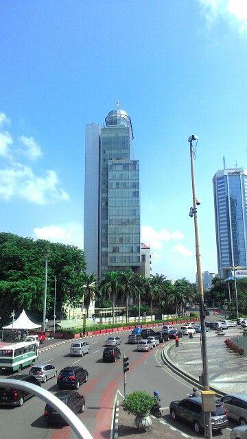 Deutsche Bank Street view, Skyline, Jakarta