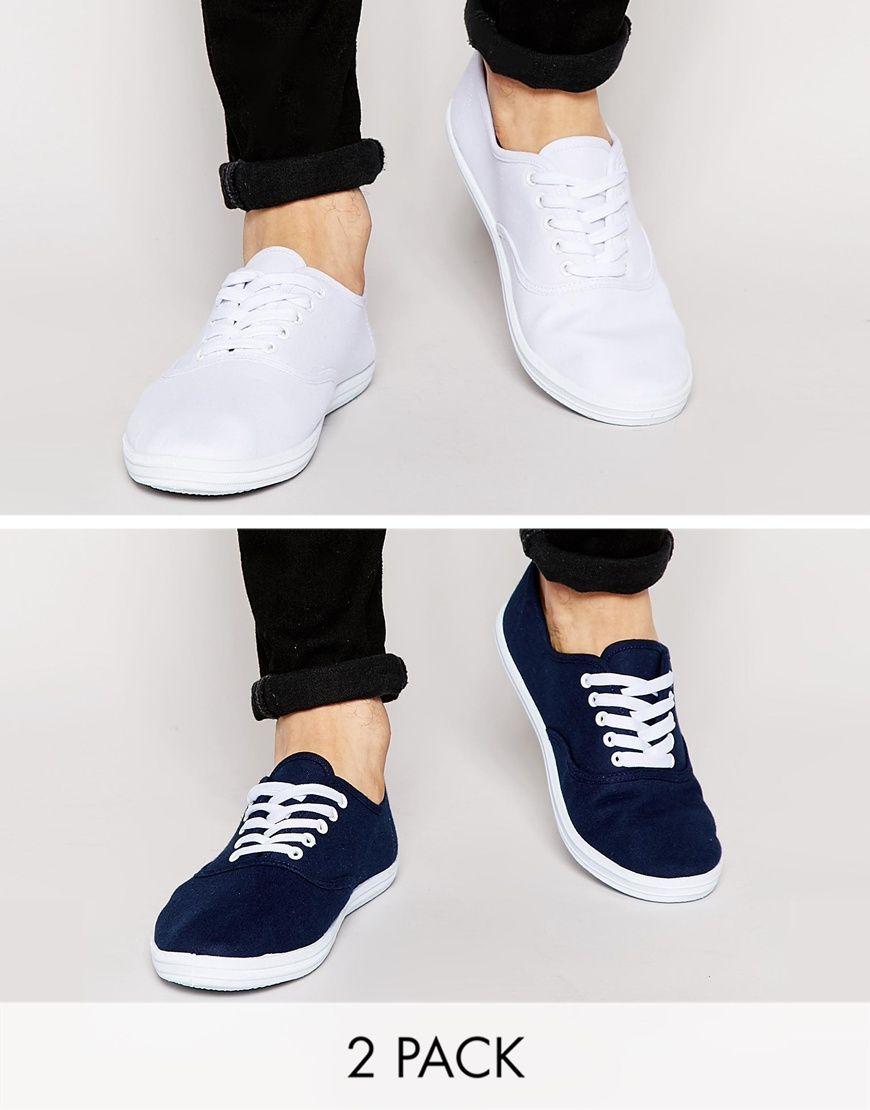 Plimsolls, Mens canvas shoes, Canvas shoes