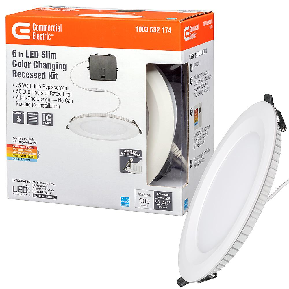 trim downlight 900 lumens dimmable