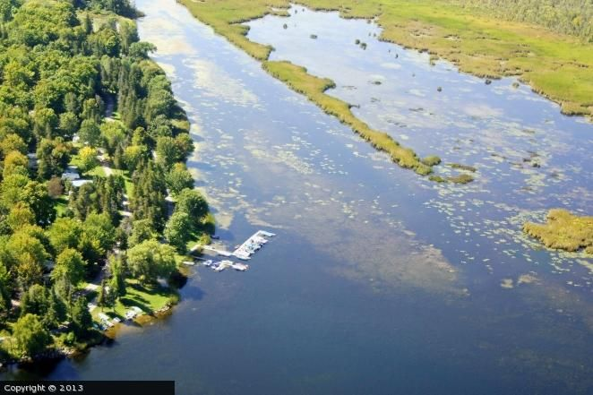 Lakefield Campgrounds in Buckhorn, Ontario, Canada.