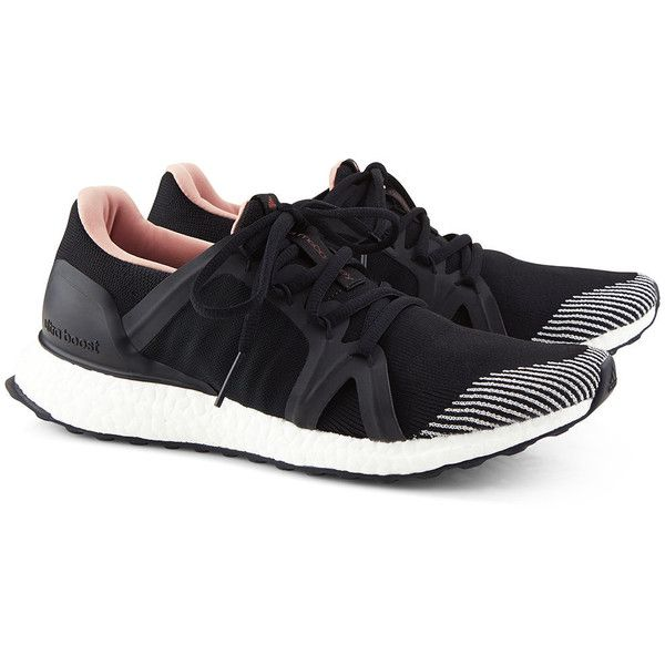 newest 2413f 269a3 Adidas By Stella McCartney Black Ultra Boost Running Trainers ( 205) ❤ liked  on Polyvore