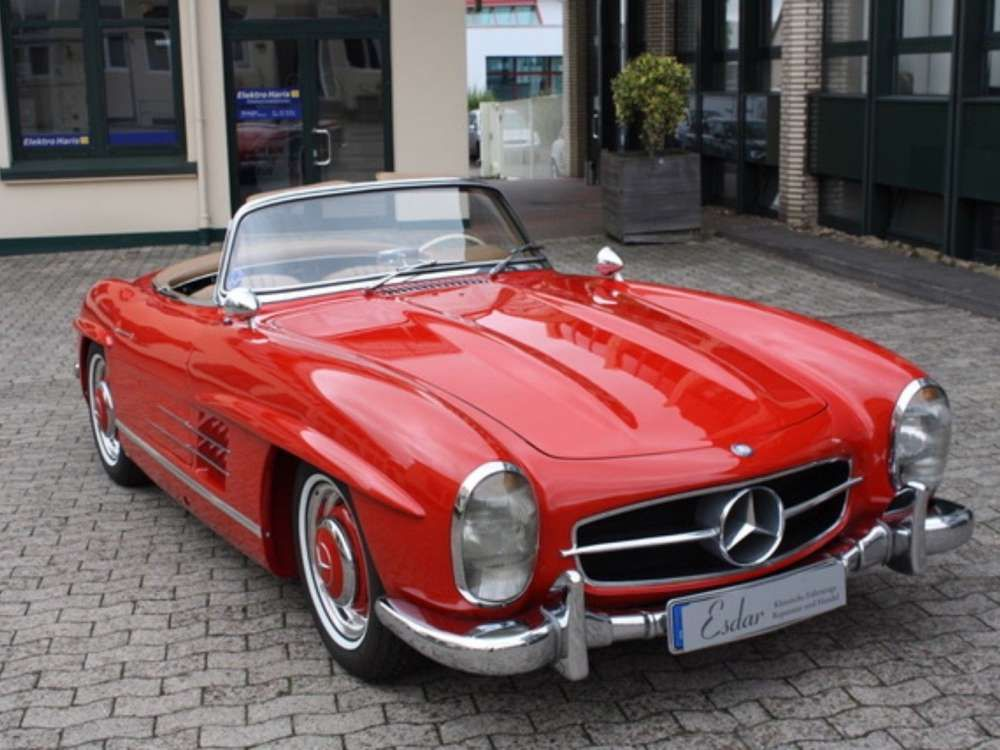 1957 Mercedes Benz 300 Sl Classic Cabriolet Top Condition Tags